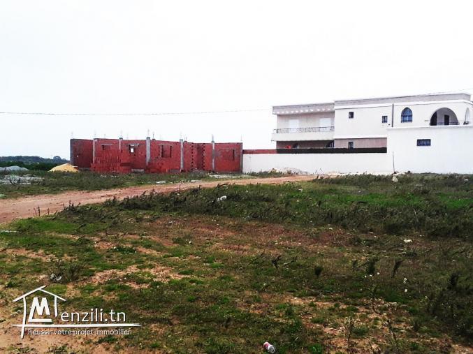 un terrain constructible vue sur mer à kélibia