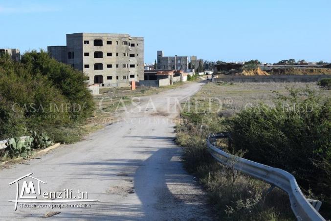 un terrain à El Hammamet avec facilité du paiement