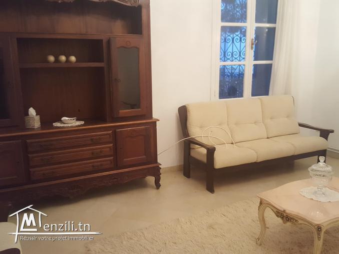 Joli étage de villa meublé à sidi bousaid