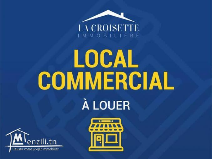 Local commercial à la goulette ref MCL0011