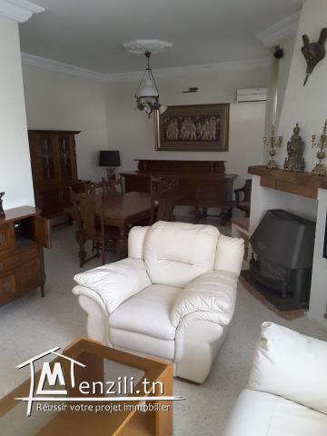 Belle villa style arabesque meublée à  hammam sousse 50 m de la plade