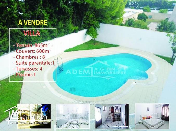 Adorable villa avec piscine et jardin
