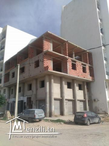 Immeuble à construction achevé
