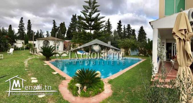villa à louer à la Soukra MVL0111