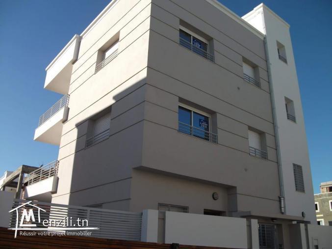 Immeuble RDC + 2 Appartements S+2 Cité AFH