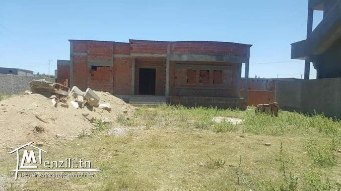 Villa inachevee a vendre