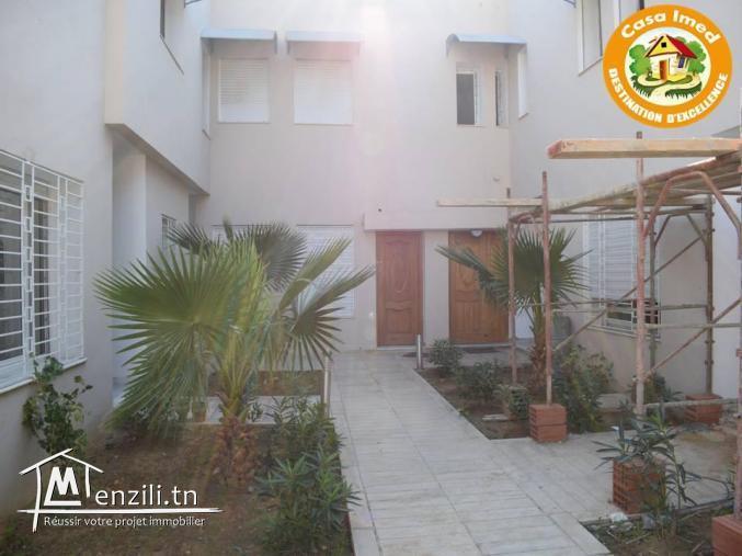 Duplex avec jardin