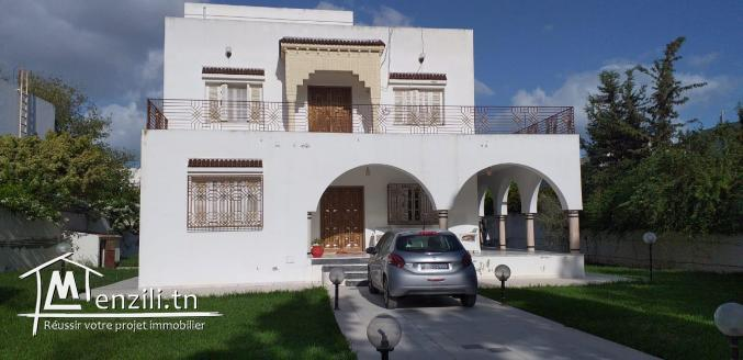 une villa