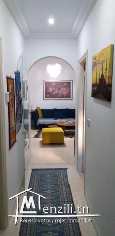 un appartement de 80 m2