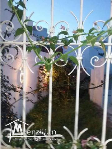 Studio de S+1 avec jardin de haut standing à hammamet