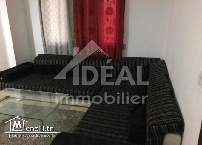 Appartement S+2 meublé à El Aouina