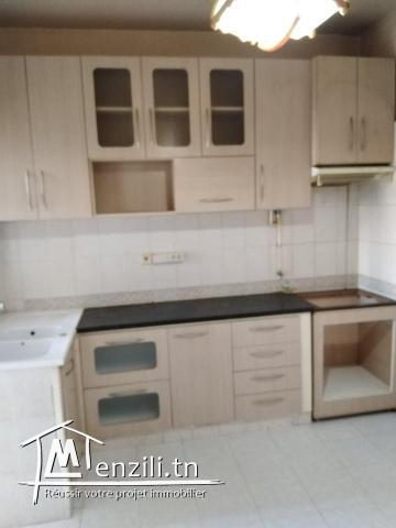 Appartement rez-de-chaussée à khzema