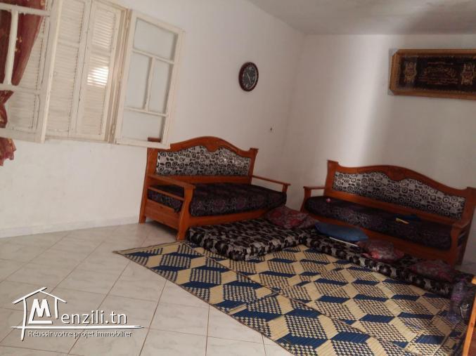 Réf 2088 : Une Maison de deux Niveaux à Bni Nafaa Bizerte