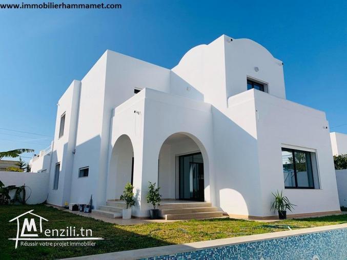 Villa Mario à Sidi Hammed Hammamet