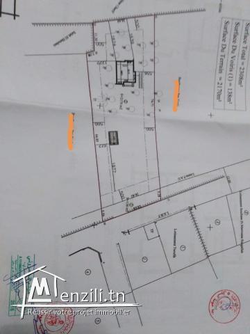2300m2 Houmt Souk + permis de bâtir