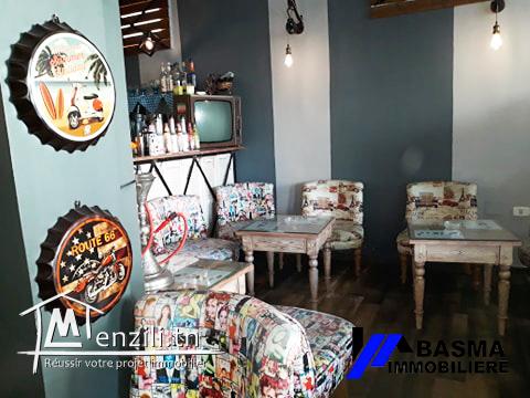 Vente fond de commerce salon de thé à Sahloul
