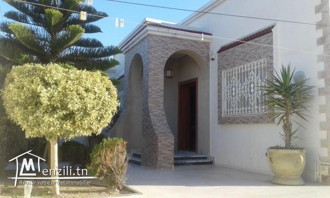 maison et lot à erriad soliman nabeul