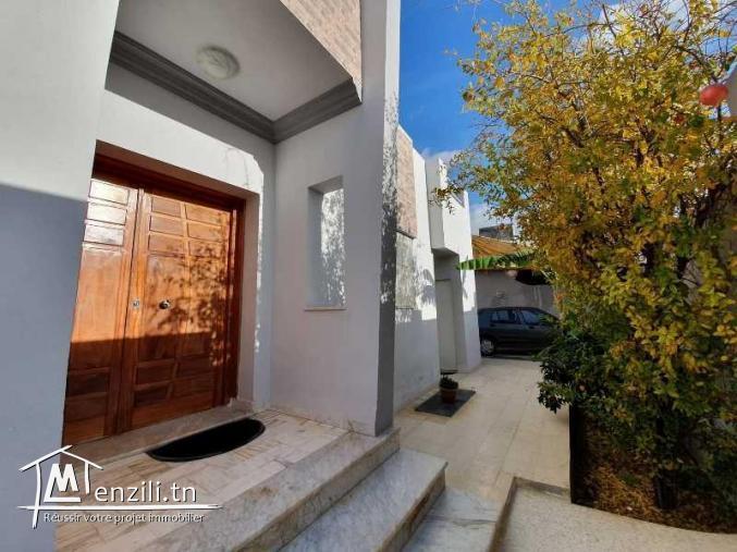 Villa de style moderne à Bir bouregba Hammamet
