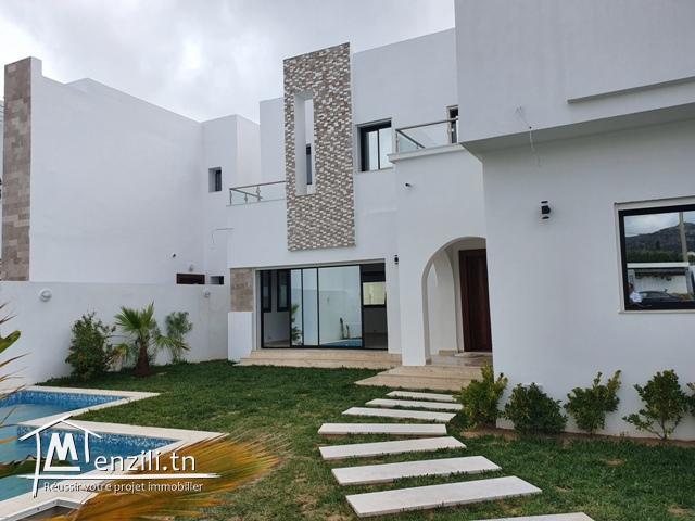 Des villas modernes à Hammamet zone craxi