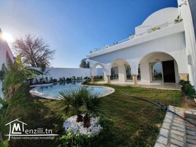 Villa style arabesque et modrene à Hammamet zone chraf