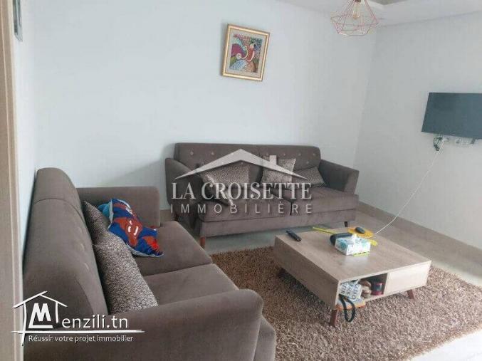 à louer un appartement s+2 meublé ZAL0324