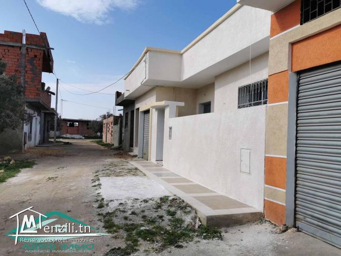 Maison avec garage 169 m² à kelibia