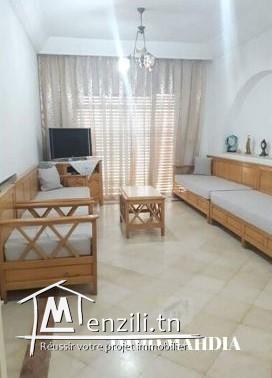 """un appartement Haut standing meublé en """"S+2"""" situé à Zone Touristique de Mahdia ."""