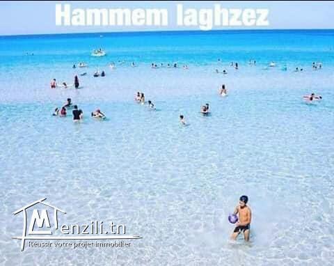 résidence à plage hammame ghzeze