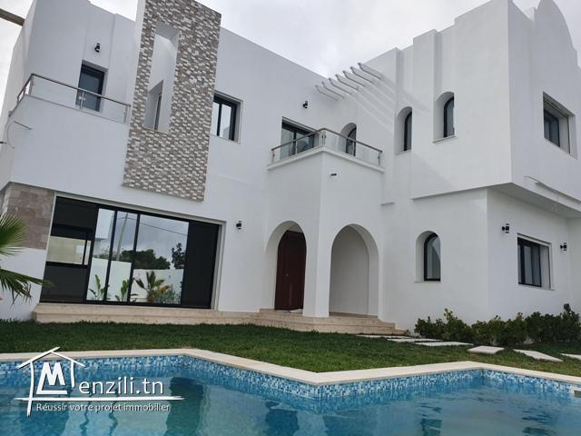 Des villas à Hammamet zone craxi