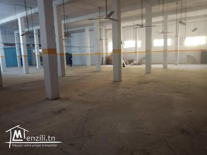 Réf 7053 :VASTE Local tout usage , 14 janvier Bizerte
