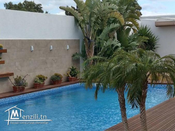 Villa de luxe à Hammamet Nord pres de la mer