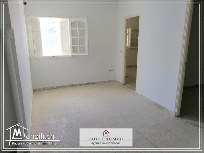 A louer étage de villa S+2 à Néapolis Nabeul - OG218