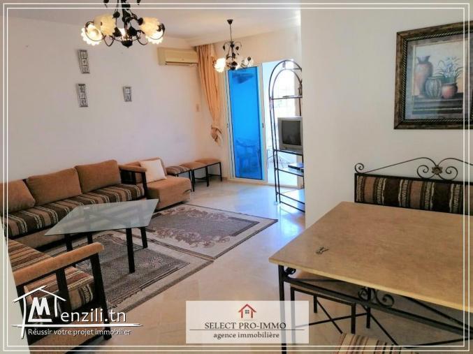 A louer S+2 meublé à Hammamet Nord - OG217