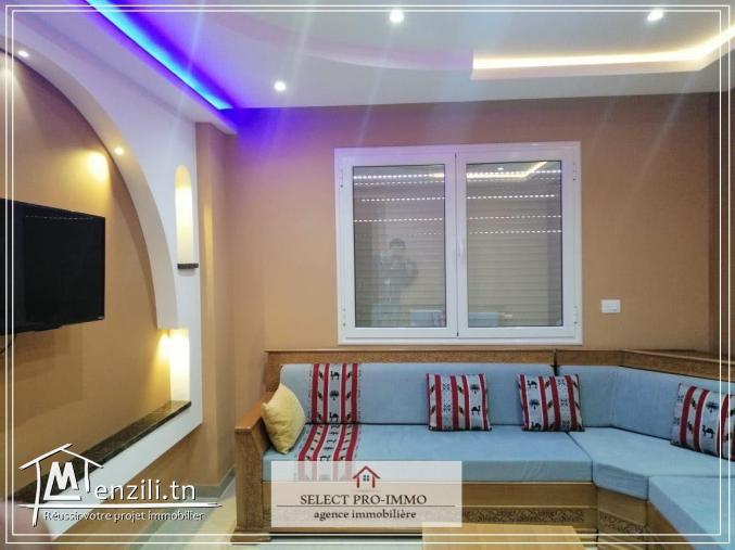 A louer S+2 meublé à Nabeul -OG204