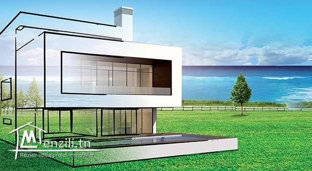 A vendre terrain de 509 m² au Deux oueds - JB123