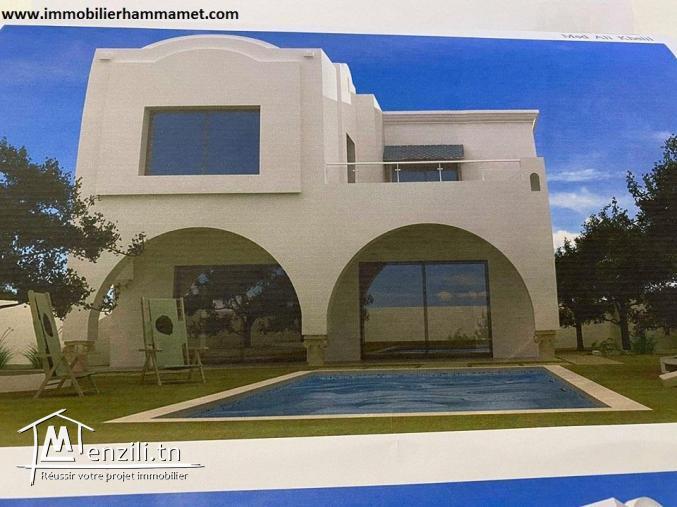 Villa Alpha à El Monchar Hammamet