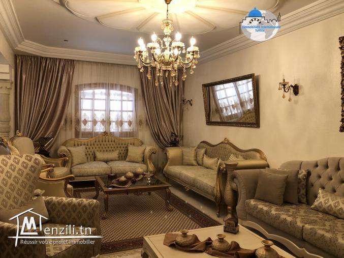 une villa style américain  à sahloul