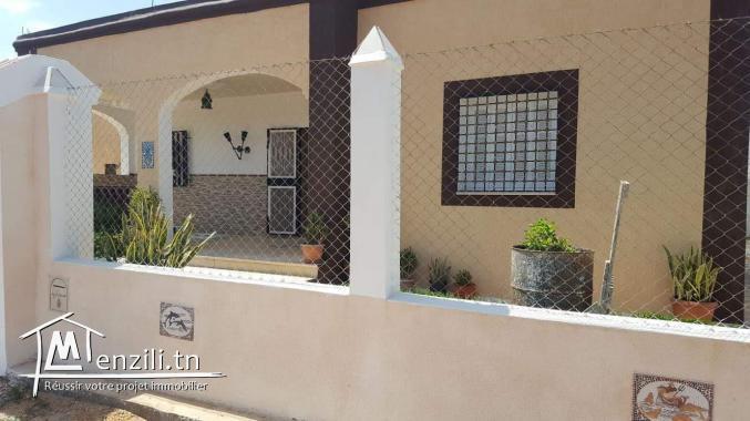 villa 2s+2 renouvellement construite