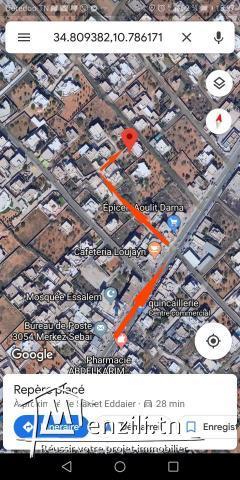 ارض للبيع 548 متر مربع