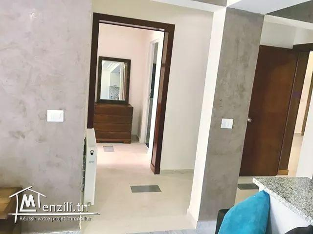 Appartement luxueusement meublé S +1