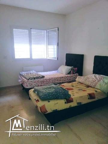 Appartement luxueusement meublé S +2