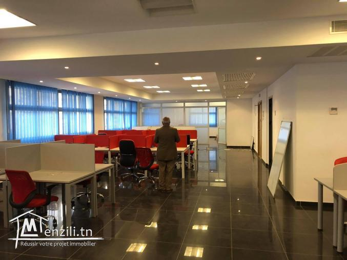 Open space 215m² Lac 1 Haut standing