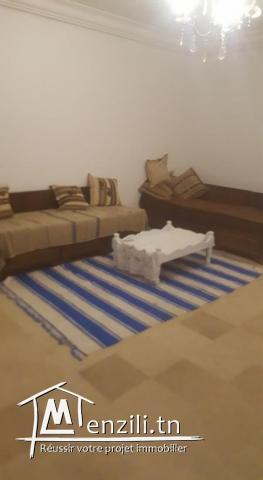 RDC D'une Villa meublée