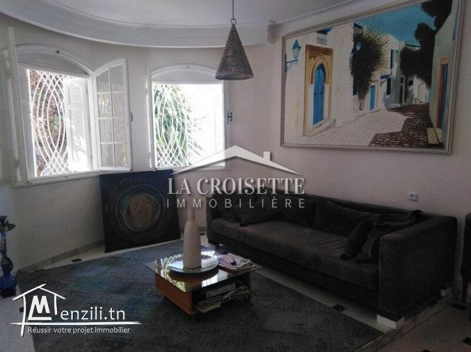 à vendre villa R+1 à la marsa cité des juges MVV0060