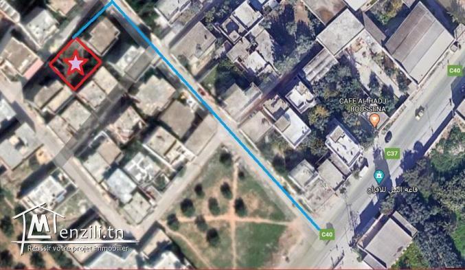 أرض للبيع صالحة للبناء أمام قاعة النيل للأفراح