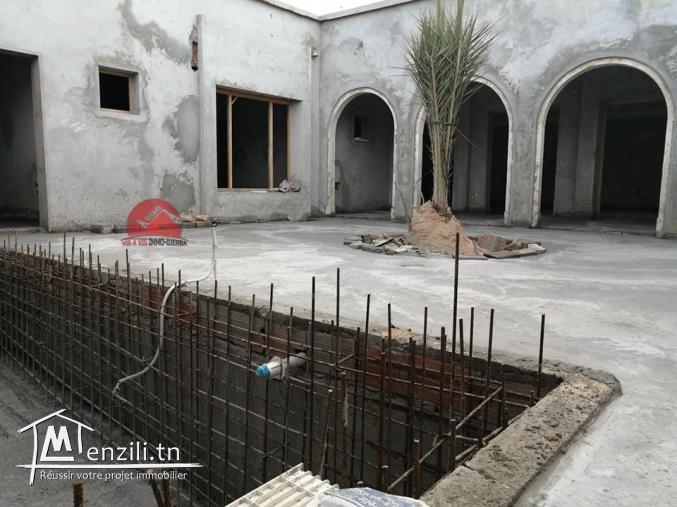 Maison Djerbienne mise en vente en Zone Urbaine Houmt Souk Djerba