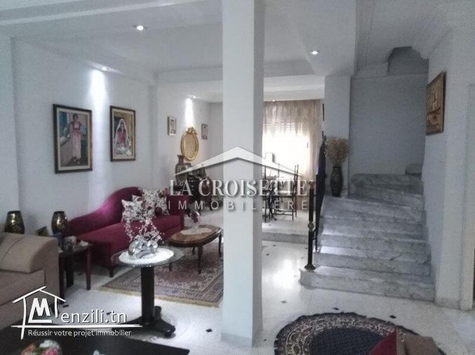 villa s+4 vente à l'aouina ZVV0051