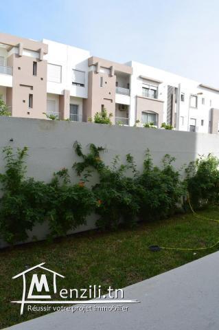des appartementsà jardins du Carthage