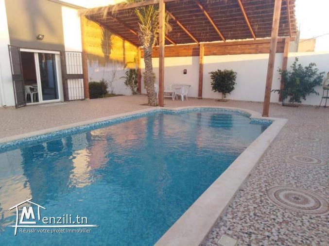 villa avec piscine L91
