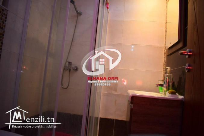 A louer appartement S+1 rz panorama zone touristique mahdia